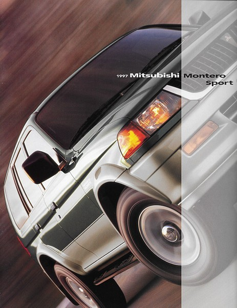 Primary image for 1997 Mitsubishi MONTERO SPORT sales brochure catalog US 97 ES LS XLS