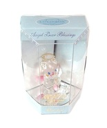Lovinbox October Glass Angel Bear & Mirror Stand Figurine - $9.99