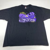 Mickey's 2016 Halloween Party T Shirt Men's 3XL XXXL Short Sleeve Black Cotton - $17.99