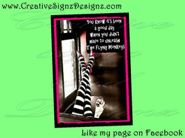 UNLEASH FLYING MONKEYS 8x12 metal print Aluminu... - $16.00