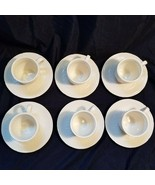 Set of 6 Mikasa American Countryside Cups and Saucers - Coffee Tea Cups ... - $14.39