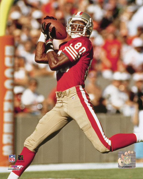 Primary image for Jerry Rice San Francisco 49ers Vintage 8X10 Color Football Memorabilia Photo