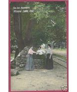 WINONA LAKE INDIANA Inn Fountain Ladies 1908 IN - $12.00