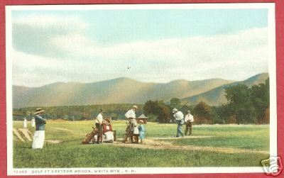 Primary image for White MtnS NH Golf Bretton Wood Players Postcard BJs
