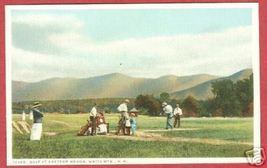 White MtnS NH Golf Bretton Wood Players Postcard BJs - $10.00