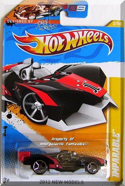 Primary image for Hot Wheels - Imparable: 2012 New Models #3/50 - #3/247 *Black Edition*