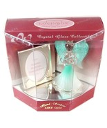 Lovinbox Aqua Angel Mirror Stand & Picture Frame Figurine - $12.99