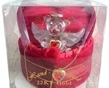 VALENTINE Red Lovinbox Angel Bear Hugs Box Gilded 22K