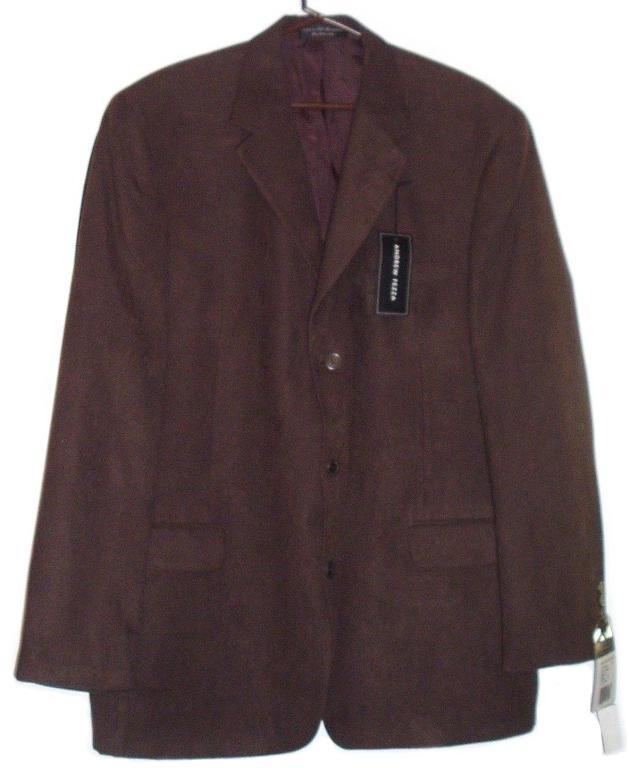 Jacket brown suede 1