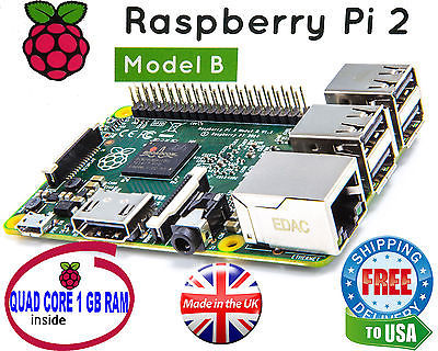 Primary image for Raspberry Pi 2 Ultimate Starter Kit - Wifi, HDMI, Breadboard, SD Card - KIT ONLY