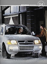 2004 Mitsubishi MONTERO sales brochure catalog US 04 XLS Limited - $8.00