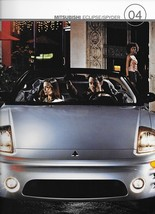2004 Mitsubishi ECLIPSE sales brochure catalog US 04 GS GT GTS Spyder - $8.00