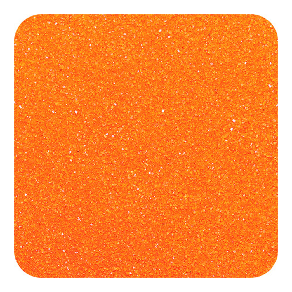 Primary image for Sandtastik Classic Colored Non-Toxic Play Sand 1 lb (454 g) Bag - Orange