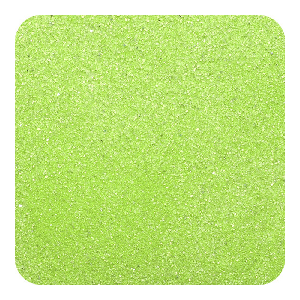 Primary image for Classic Colored Non-Toxic Play Sand 1 lb (454 g) Bag - Fluorescent Green