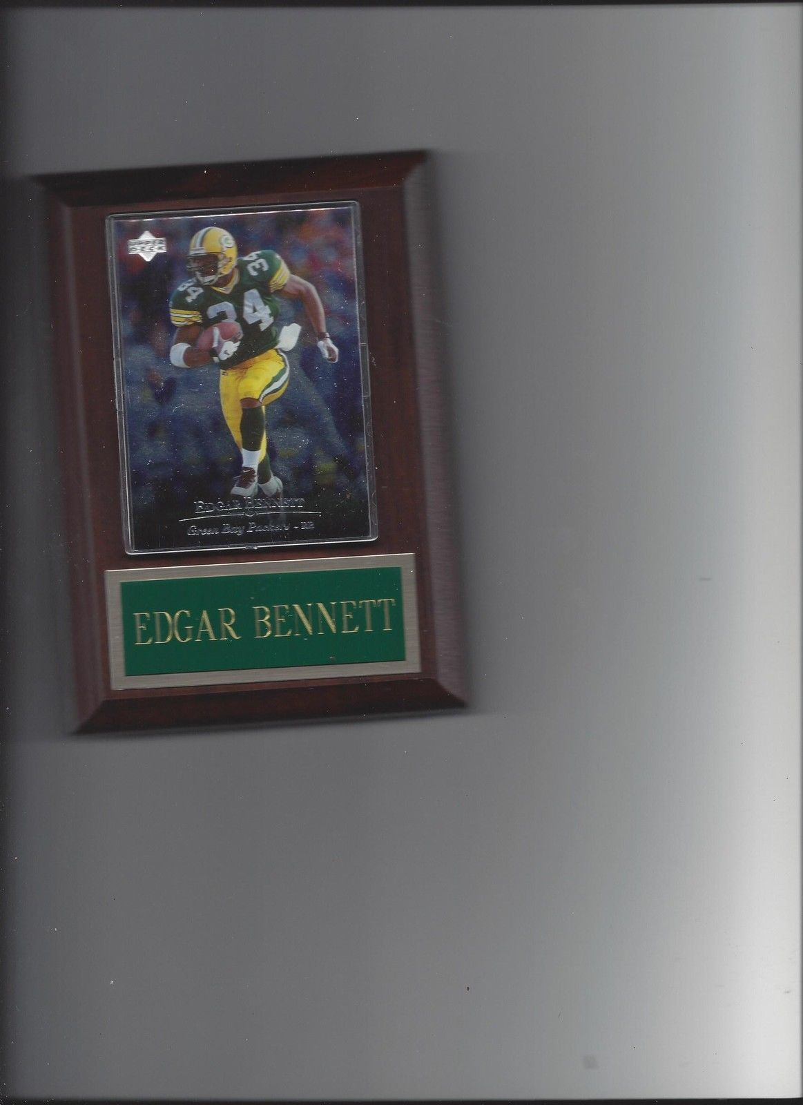 Primary image for EDGAR BENNETT PLAQUE GREEN BAY PACKERS FOOTBALL NFL