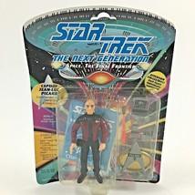 Star Trek 1992 The Next Generation Captain Jean-Luc Picard Action Figure - $6.71