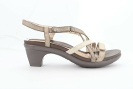 Abeo Gloriana Sandals Metallic Rustic Size US 8 Neutral Footbed ()4288 - $60.00