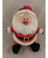 "Russ Santa Claus Plush 10"" Nylon Stuffed Animal toy - $6.95"