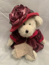 MS. ROUGE CHAPEAU VICTORIAN BEAR THE BOYDS HEAD BEAN COLL. RED HAT SOCIE... - $18.69