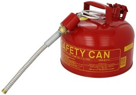 """Eagle U2-26-SX5 Type II Metal Safety Can, Flammables, 11-1/4"""" Width x 9-... - $71.65"""