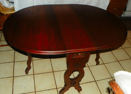 Solid Walnut Dropleaf  Game Table / Parlor Table - $799.00
