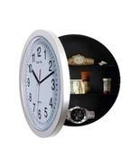 College Dorm Room Storage Wall Clock Shelf Unit Hidden Safe Home Office ... - $32.66