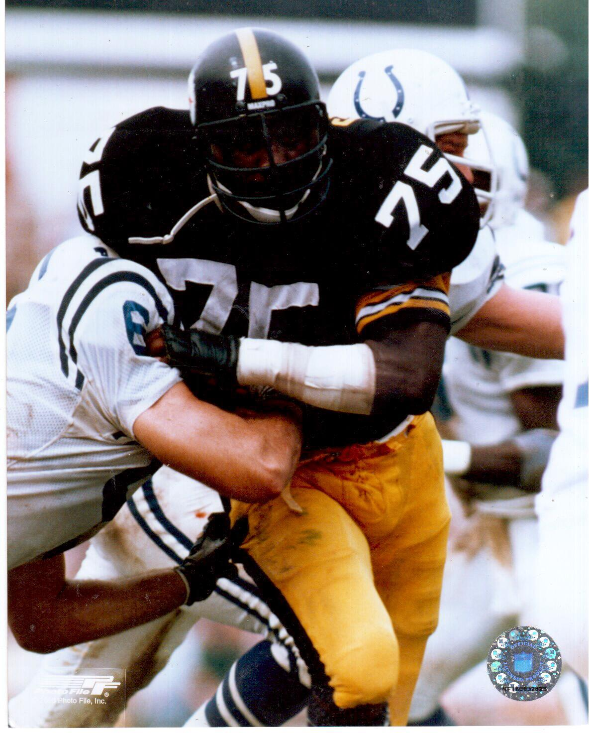 Primary image for Joe Greene Pittsburgh Steelers F Vintage 8X10 Color Football Memorabilia Photo