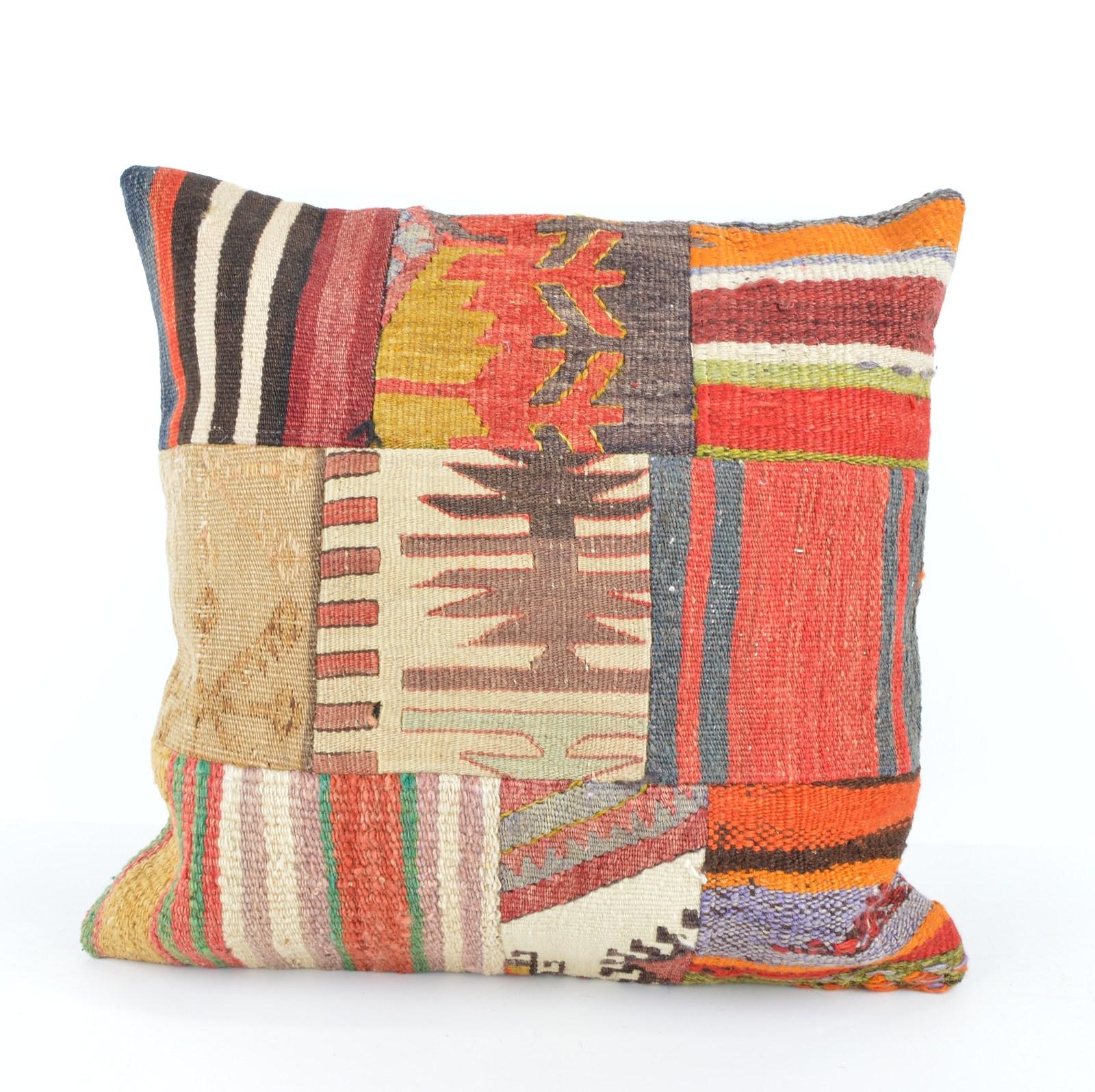 patchwork pillow kilim patchwork 18x18 inch rug patchwork patchwork kilim pillow