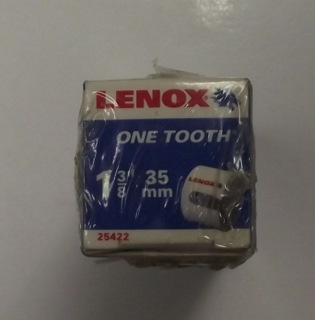 "Primary image for Lenox Tools 1-3/8"" One Tooth Rough Wood Hole Cutter 25422"