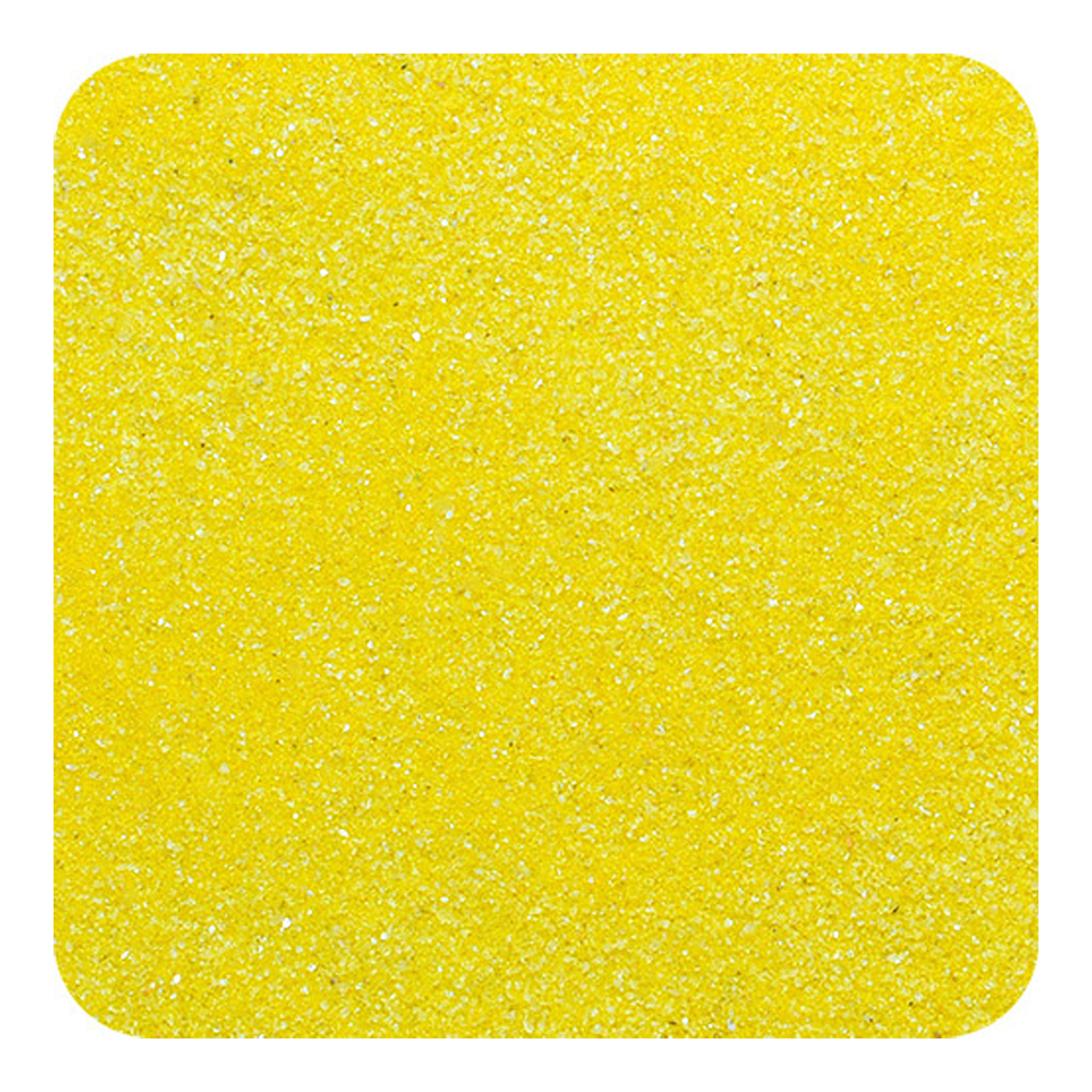 Primary image for Sandtastik Classic Colored Non-Toxic Play Sand 2 lb (909 g) Bag - Yellow