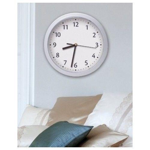 College Dorm Room Storage Wall Clock Shelf Unit Hidden Safe Home Office Cabinet