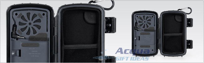 Waterproof Speaker Case for MP3 Player, Cell Phone, iPod, iPhone Black Color New image 5