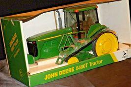 John Deere 8400T Tractor MFWD Replica w/ Box 1/16 Scale Collectors Edition AA20- image 4