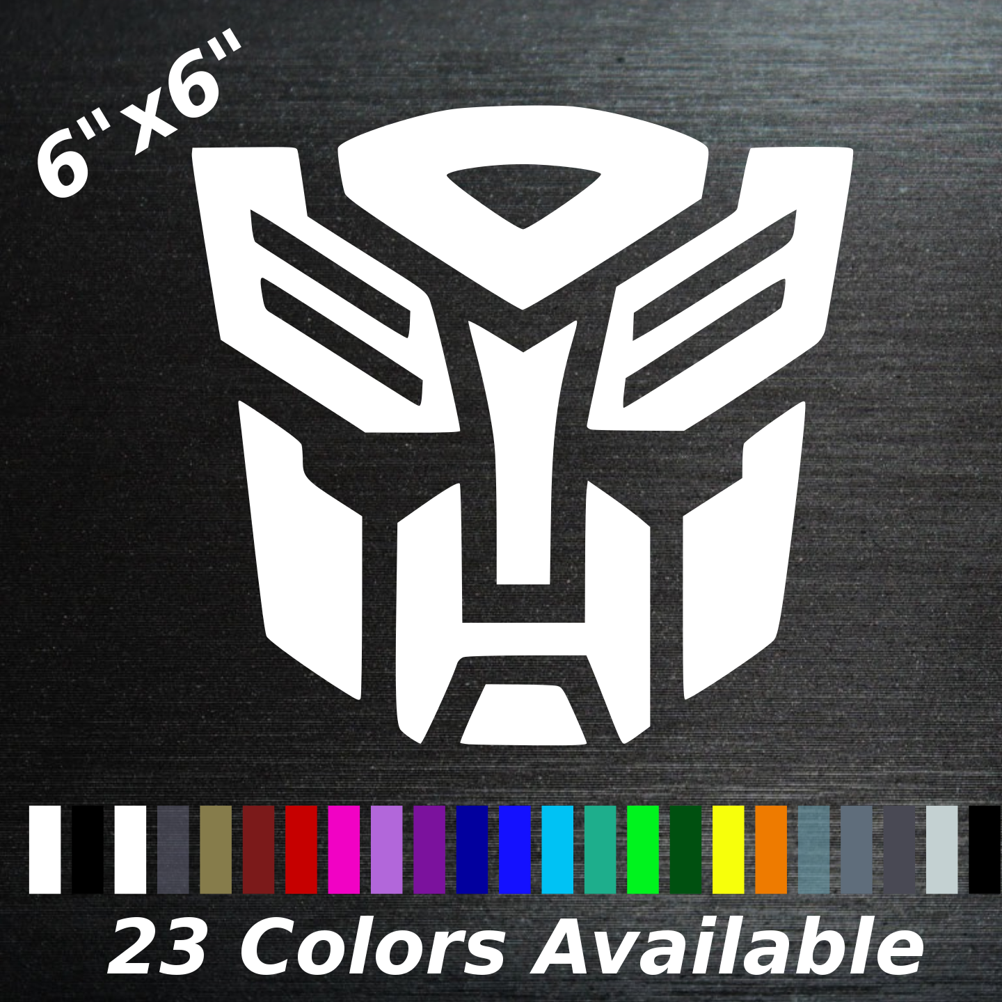 2018 Ocean G1 Cartoon style Decepticon Clear background Logo Decal In stock!