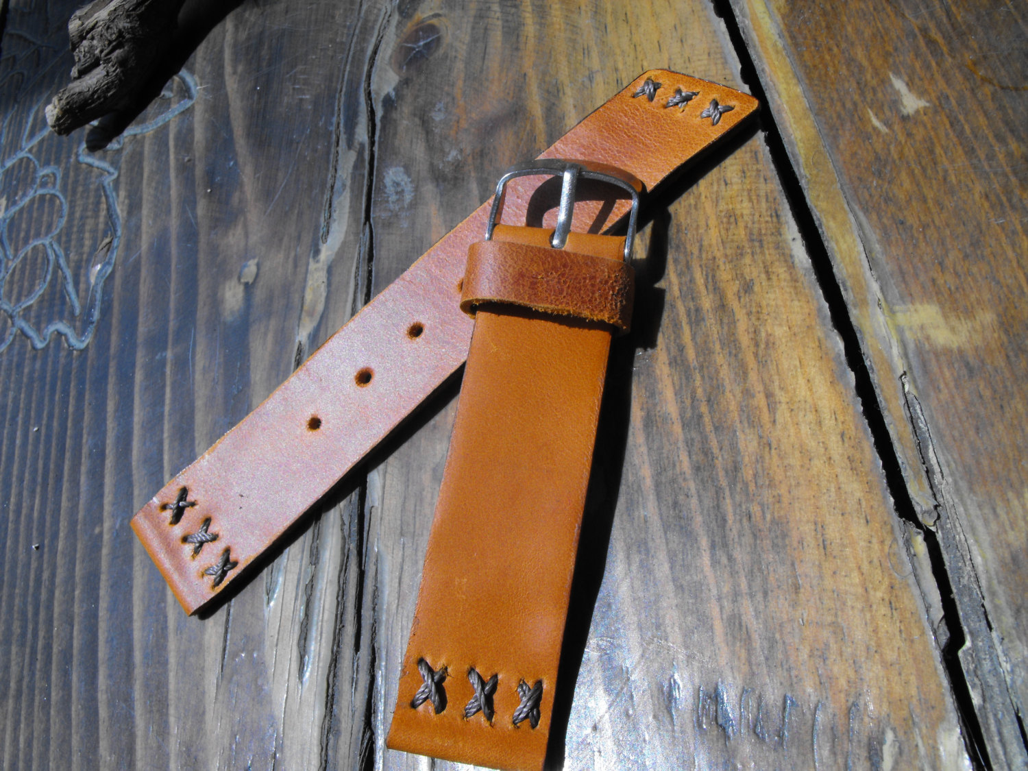 Primary image for Pam Leather Band, Italian Leather, Uhrenarmband, Retro Watch strap, Panerai Men
