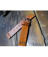 Pam Leather Band, Italian Leather, Uhrenarmband, Retro Watch strap, Pane... - $39.16