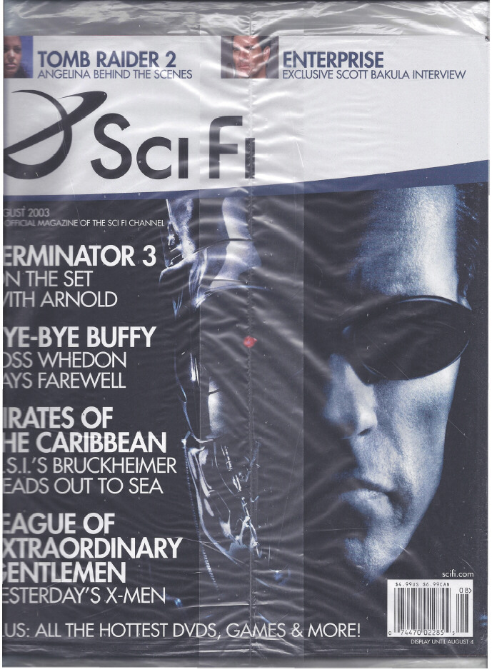 Primary image for TERMINATOR T3 Movie SciFi Magazine 2003, Buffy, Pirates, Extraordinary Gentlemen
