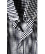 Mens button down casual shirt  clean  sharp gingham , limited edition, h... - $29.50