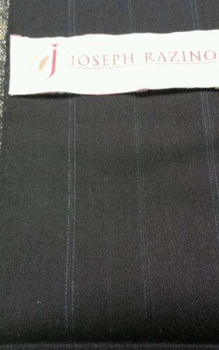 Primary image for Italian120'S  Wool suit fabric  Blue  5.8 Yards MSRP 895 Free Shipping