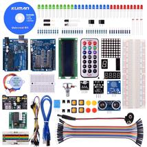 Kuman K4-US for Arduino Project Complete Starter Kit with Detailed Tutor... - $29.44