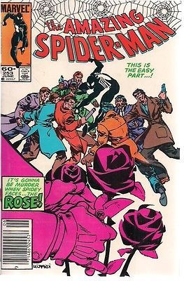 Primary image for AMAZING SPIDER-MAN #253 The Rose  (1984) Marvel Comics VERY FINE