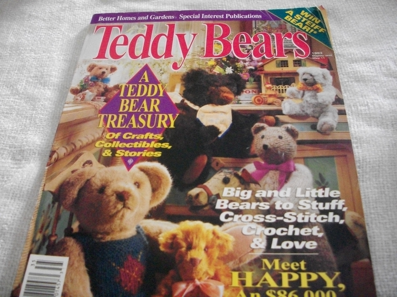 Primary image for Better Homes and Gardens Teddy Bears Magazine
