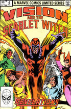 VISION and the SCARLET WITCH #4 (1982 Mini-Series) NM! - $2.50