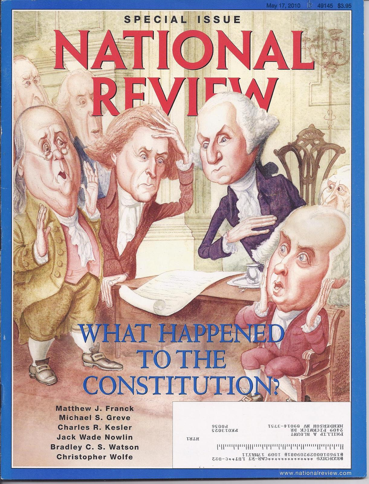 Primary image for NAVAL REVIEW Magazine May 2010: What Happened to the CONSTITUTION?