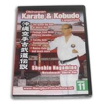Okinawan Matsubayashi Shorin Ryu Karate Kobudo Legends #11 DVD Shoshin N... - $19.99