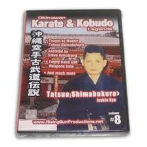 Okinawan Isshin Ryu Karate Kobudo Legends #8 DVD Tatsuo Shimabukuro RS06... - $22.00