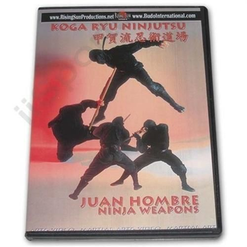 Primary image for Koga Ryu Ninja Weapons DVD Juan Hombre ninjitsu throwing stars shuriken spy FS