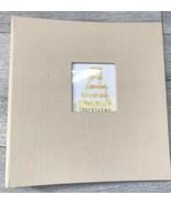 Bloomingdale's Álbum de Fotos Lona Cubierta 25 Páginas Boda Imágenes Imp... - $19.76