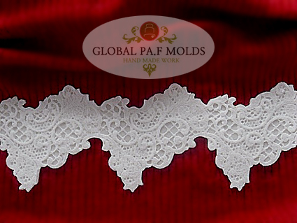 Primary image for Silicone Mold /new Elegant Lace MOLD 0756446