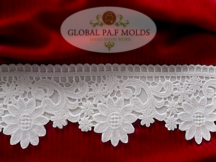 Primary image for new Elegant Lace MOLD 02321